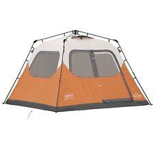 Coleman Waterproof 10 X 9-Feet 6-Person Instant Tent Orange