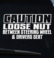 Car Funny Sticker Decal Jdm Drift Vinyl 4x4 Turbo Ute Race Hoon Stance Bumper
