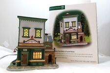 Department 56 Wm. Walton Fine Clocks & Pocket Pieces 56.56628 w/Orig Box & Light