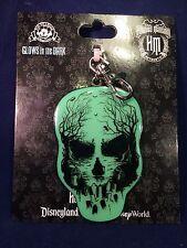Haunted Mansion Glow Skull Lanyard Medal
