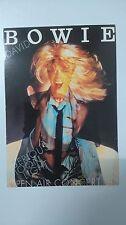 David Bowie Serious moon light open air concert vintage music postcard POST CARD