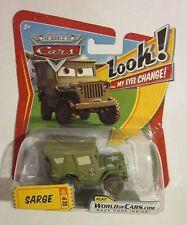 CARS - SARGE My Eyes Change - Mattel Disney Pixar