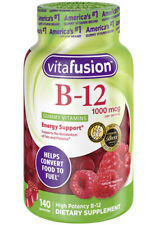 Vitafusion Vitamin B-12 1000 mcg Gummy Energy Support Dietary Supplement 140 Ct.