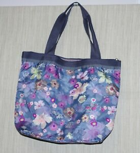 NEW!! Le Sportsac Hailey Tote Balance Floral Bag Large