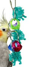 1715 FROG RINGER BIRD TOY parrot cage toys cages african grey amazon conure