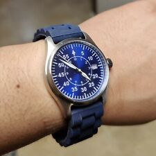 Clean Dial Automatic Nurse's Watch NAVY BLUE **CHARITY**
