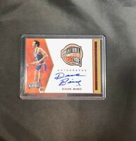 2019 2020 Panini Chronicles Playoff Dave Bing Auto Hall of Fame Detroit Pistons