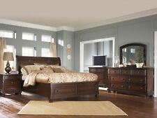 Ashley Furniture Porter Queen Sleigh Storage 6 Piece Bedroom Set