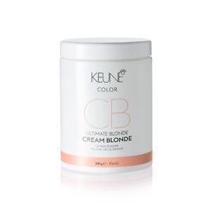 KEUNE CB ULTIMATE BLONDE CREAM BLONDE LIFTING POWDER 17.6 OZ