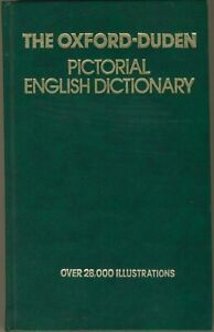 1985 PICTORIAL ENGLISH DICTIONARY: 28000 ILLUSTRATIONS - Special Soviet Edition