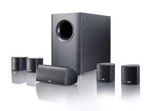 CANTON MOVIE 75 HOME CINEMA SURROUND SPEAKER SYSTEM 5.1 100W BLACK NEW