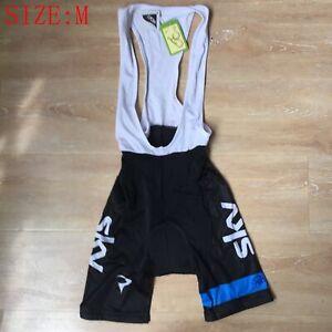 mens Team Cycling bib shorts Cycling Clothing Strap shorts Bicycle shorts Size M