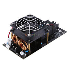 1000W 20A ZVS Tesla Induction Heating Board Heater Cooling Fan 12-36V Assembled