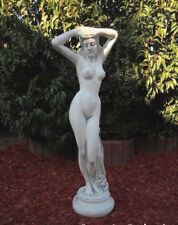 "Gartenfiguren, Gartendeko ""Frauenakt"" Steinguss, 80 cm Frau, Skulpturen, Statuen"