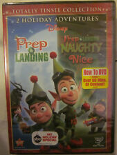 TOTALLY TINSEL COLLECTION PREP & LANDING NAUGHTY vs NICE NEW DVD DISNEY