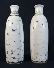 More details for antique japanese pottery saki bottles/jugs c1850