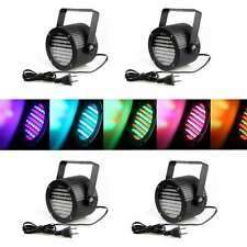 4pcs DMX512 Par Can Uplighter Lighting Effect DJ Disco Party  86LED Stage light