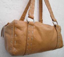 -AUTHENTIQUE  sac à main FRANCESCO BIASIA cuir TBEG vintage bag