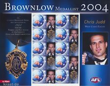 Australie - 2004 Australia Brownlow Medal Chris Judd football Arc **