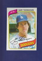 Gary Thomasson 1980 TOPPS Baseball #127 (NM) Los Angeles Dodgers