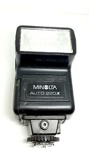 Vintage Minolta Auto Electro-Flash Working Photography Camera Accessories