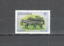 T60 - UGANDA 1979 - MAZZETTA DI 9 ZEBRA - VEDI FOTO