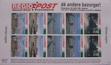 Stadspost Kollum Regio Post 1996 - Velletje Winterlandschappen ongetand