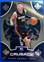 2019-20 Panini CHRONICLES Crusade TYLER HERRO Prizm ROOKIE Card Rc Miami Heat 🔥