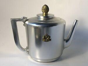 Kensington MAYFAIR Aluminum Teapot by Lurelle Guild ART DECO