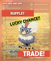 Pokemon GO RUFFLET