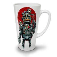Robot Red Sun Fashion NEW White Tea Coffee Latte Mug 12 17 oz | Wellcoda