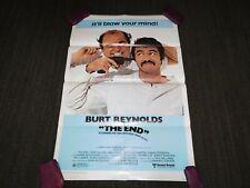"VINTAGE MOVIE POSTER 1978 THE END 40 1/2"" X 27 1/4"" BURT REYNOLDS"