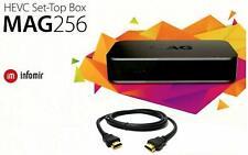 MAG 256 Genuine Original Infomir IPTV/OTT Box, Faster than MAG 254 UK EU Plug