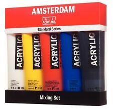 Amsterdam Standard Series Acrylic Paint Mixing Set 5 x 120ml