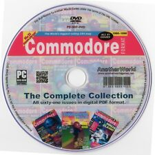 COMMODORE FORMAT Magazine Collection on Disk (AMIGA/C64/C128/CDTV/CD32 Games)