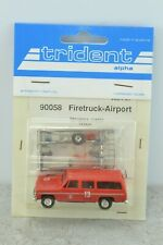 Trident 90058 Chevrolet Suburban Airport Fire Department Truck 1:87 Scale HO