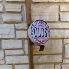 Olds Hit Miss Engine Motor logo emblem Service Part Wall or Post Sign