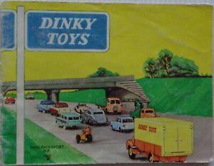 DINKY Toys Catalogue English Export Dublo 1960 Original Good Condition