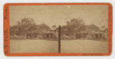 MAMMOUTH BEACH CLUB HOUSE LONG BRANCH, N.Y. STEREOVIEW BY G. W. PACH Ca. 1870's
