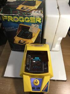 CGL Frogger 1980's Tabletop Game Working & Within Its Original Box