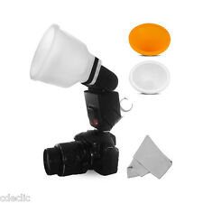 Diffuseur Universel de Flash Lambency Cloud + 2 Dômes. Pour Canon Speedlite