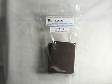 """2"""" x 2-1/2"""" bases for Wargaming (10)"""