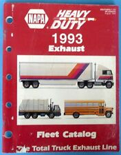1993 Napa heavy Duty Exaust System Fleet Catalog DK-93HDTR