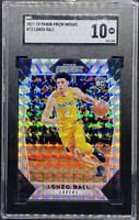 Lonzo Ball 2017-18 Panini Prizm Mosaic RC Rookie Gem Mint #73 SGC 10