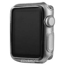 Apple Watch Series 2+3 42 mm TPU GEL Hülle Silikon ultradünn transparent klar