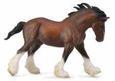 CLYDESDALE BAY STALLION - 19cm Horse Model by CollectA 88621- New with Tag