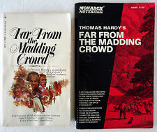 Thomas Hardy Far From Madding Crowd and Monarch Notes Study Guide Lot 2 PB