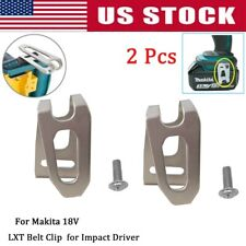 2x BELT CLIP HOOK & SCREW FOR MAKITA 18V LXT CORDLESS DRILLS IMPACT DRIVERS