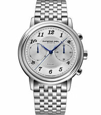 Raymond Weil Maestro Automatic Chronograph Stainless Steel Men's Watch $2700