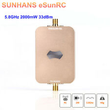 SUNHANS eSunRC 2000mW 5.8Ghz 33dBm Aeromodelling Amplifiler WiFi Signal Booster